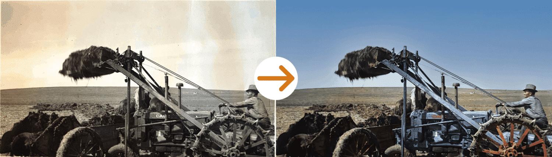 farmer photo restoration by memorycherish