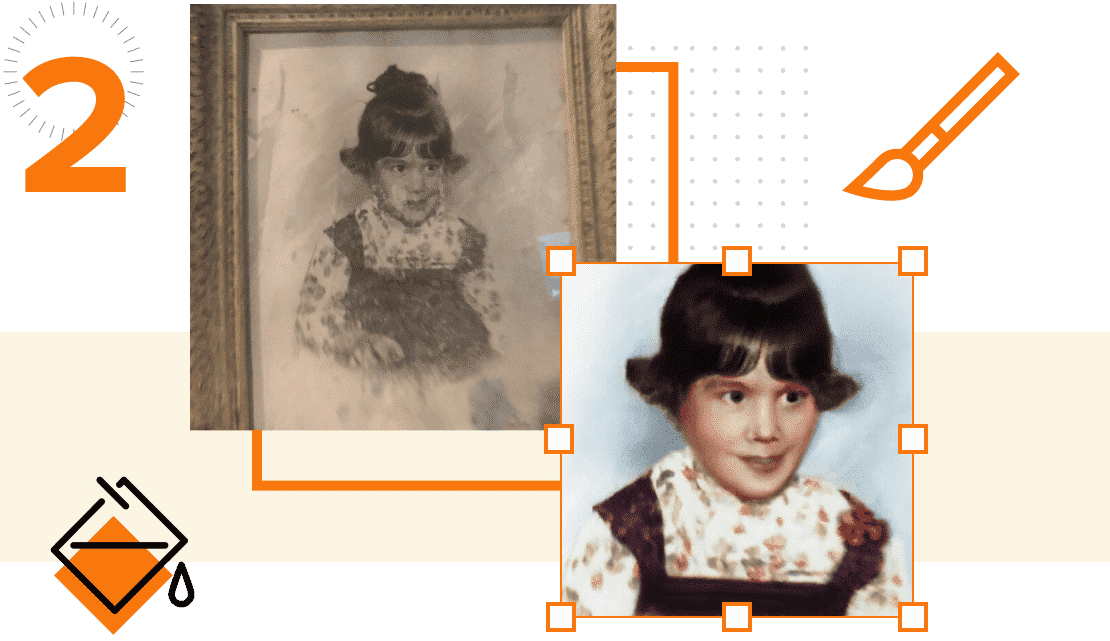 how photo restoration works step 2